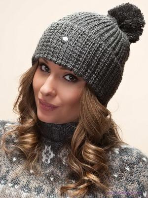 Модные шапки-2015: фото модных вязаных женских шапок для зимы 2015